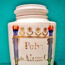 Antigüedades: TARRO DE FARMACIA. HACIA 1900.. Lote 53229706