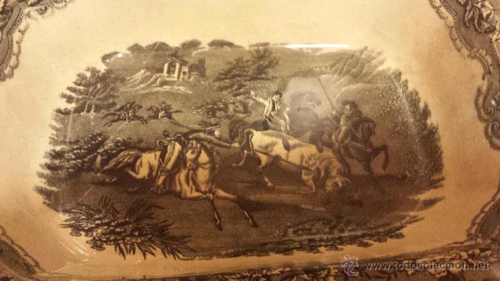 Antigüedades: antigua ensaladera de cartagena, sello tinta e inciso - Foto 2 - 53243930
