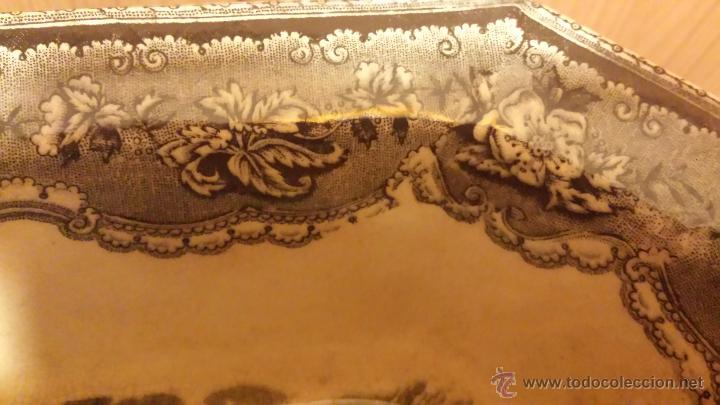 Antigüedades: antigua ensaladera de cartagena, sello tinta e inciso - Foto 3 - 53243930