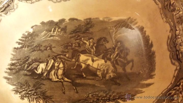 Antigüedades: antigua ensaladera de cartagena, sello tinta e inciso - Foto 4 - 53243930