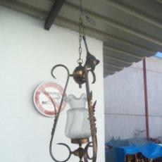 Antigüedades: LAMPARA TULIPA. Lote 53255833