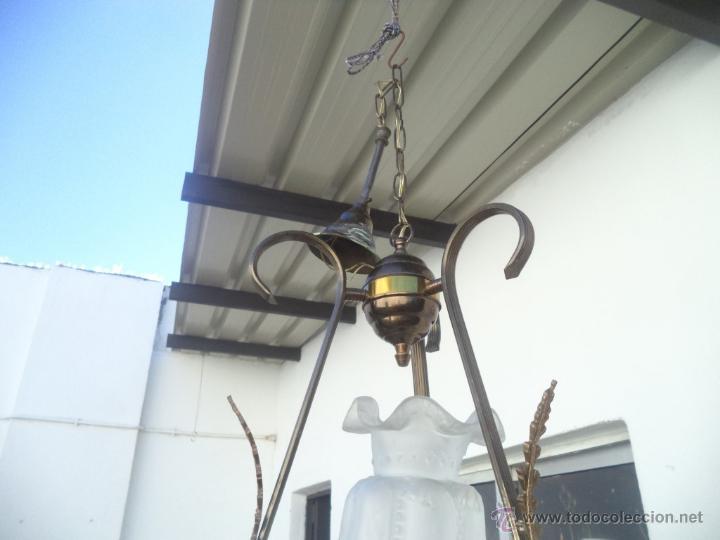 Antigüedades: lampara tulipa - Foto 3 - 53255833