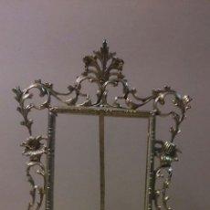 Antigüedades: MARCO DE SOBREMESA EN BRONCE. Lote 53266514