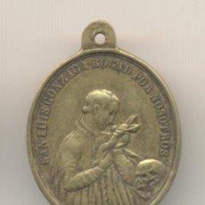 Antigüedades: 2ºCAJ- BONITA MEDALLA 1830 SAN LUIS GONZAGA 3,5 CTMS.. Lote 53268810