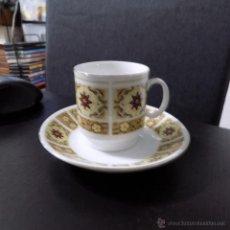 Antigüedades: TAZA DE CAFE, POCILLO EN PORCELANA , CHINA. Lote 53272786