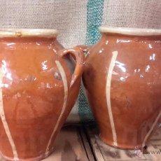 Antigüedades: PAREJA DE TINANAJAS. TAMAÑO PEQUEÑO.. Lote 53280337