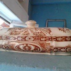 Antigüedades: PEINADOR DE LOZA INGLESA WEDGWOOD. Lote 53290606