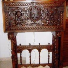 Antigüedades: BARGUEÑO ESTILO RENACIMIENTO, FINALES DEL SIGLO XIX.. Lote 53297328