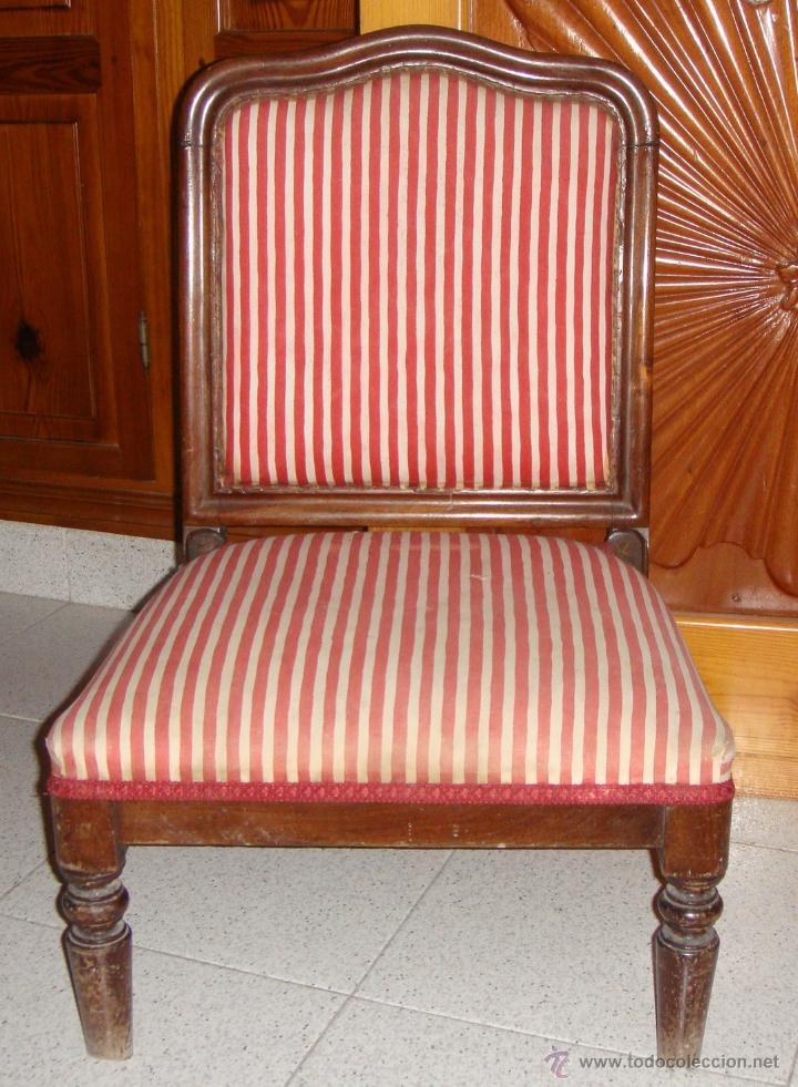 Antiguo sill n o descalzadora para dormitorio comprar - Sillon para dormitorio ...