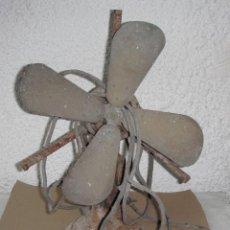 Antigüedades: ANTIGUO VENTILADOR DE HIERRO. PRINCIPIOS S.XX. Lote 53312776