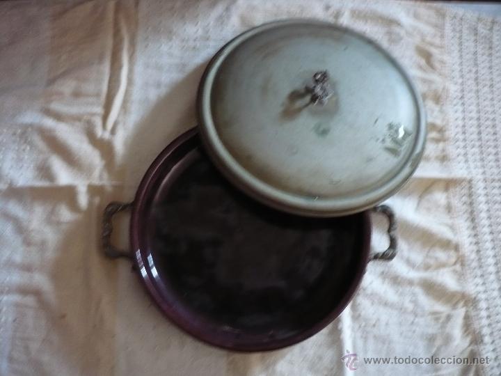 Antigüedades: Bandeja Plato Angulera - Foto 3 - 53323840