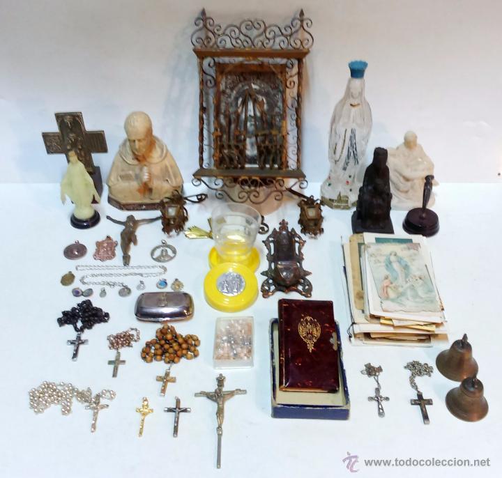 Gran lote de antiguos objetos religiosos en di comprar for Compra de objetos antiguos