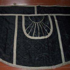 Antigüedades: CAPA PLUVIAL NEGRA . Lote 53339447