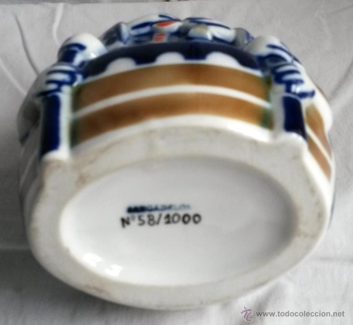 Antigüedades: Nosa Señora da Barca: figura de porcelana de Sargadelos, Galicia (España) - Foto 4 - 53349186