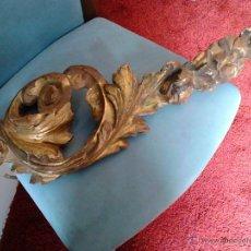 Antigüedades: FRAGMENTO DE RETABLO BARROCO. Lote 53352272