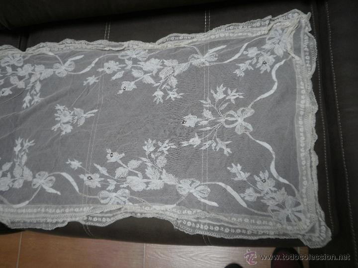 MANTILLA ANTIGUA (Antigüedades - Moda - Mantillas)