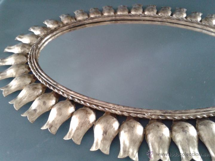Antigüedades: ESPEJO SOL - Foto 3 - 53359222