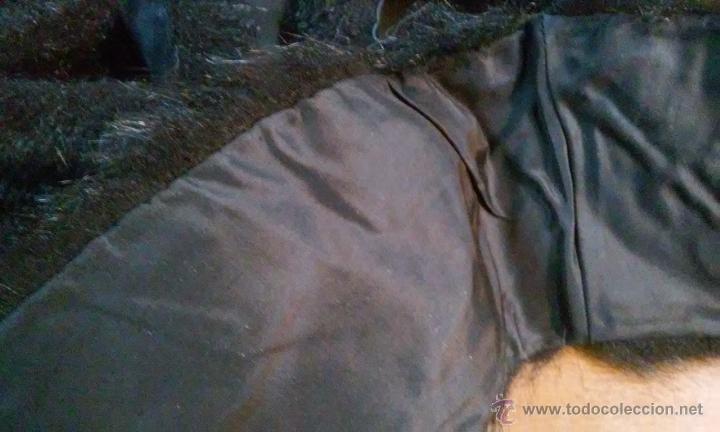 Antigüedades: Antiguos puños y cuello de abrigo. Pelo sintético. - Foto 4 - 53360202