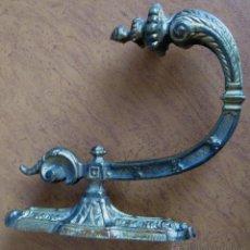 Antiques - SUJETA CORTINAS de bronce labrado - 53360886