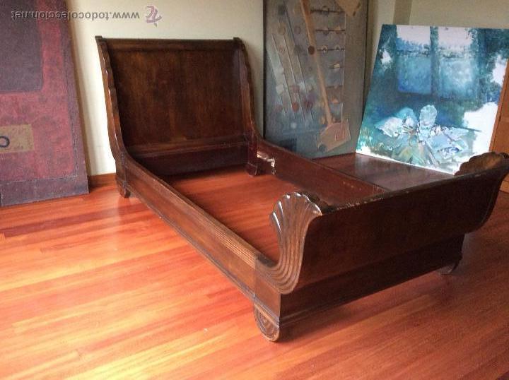 Cama barco madera noble comprar camas antiguas en - Antiguedades de barcos ...