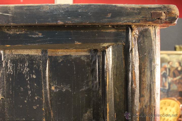 Antigüedades: Armario chino en madera lacada del siglo XX - Foto 6 - 53363269