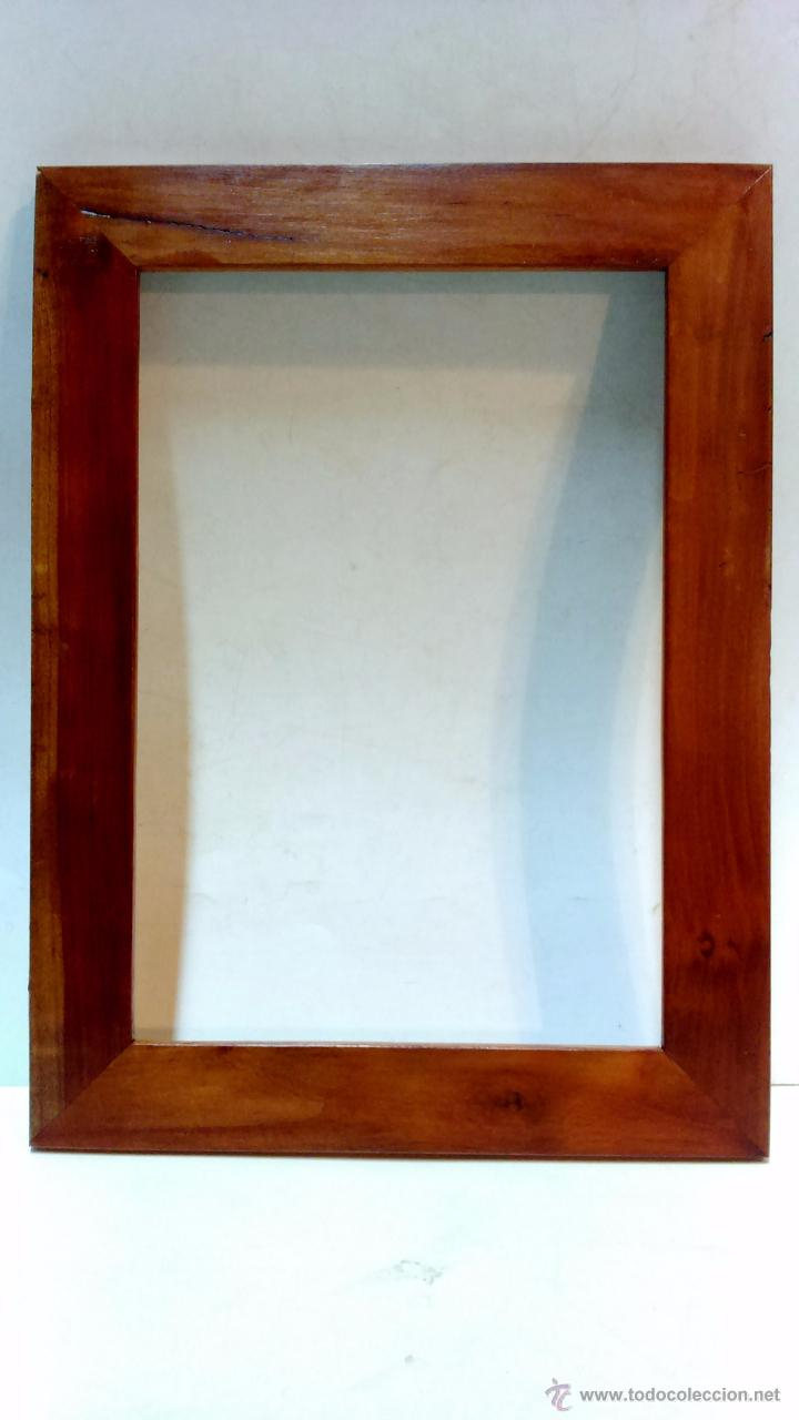 marco macizo de nogal hecho con madera de nogal - Comprar Marcos ...