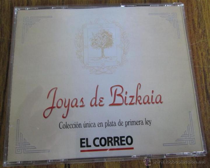 Antigüedades: JOYAS DE BIZKAIA Colección de 9 medallas De 22 mm plata 925/000 - Foto 5 - 53372898