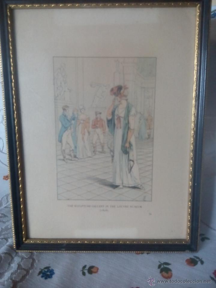 oferta de 4 cuadros ingleses antiguos. bellas l - Comprar ...