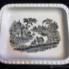 Antigüedades: BANDEJA LA CARTUJA DE SEVILLA, PICKMAN S.A.. Lote 53395580