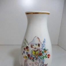 Antigüedades: ANTIGUO FLORERO FIRMADO.. Lote 53398527