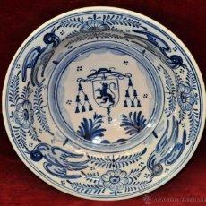 Antigüedades: PLATO EN CERÁMICA DE LA MENORA (TALAVERA) DE APROXIMADAMENTE MEDIADOS DEL SIGLO XX. Lote 53412782