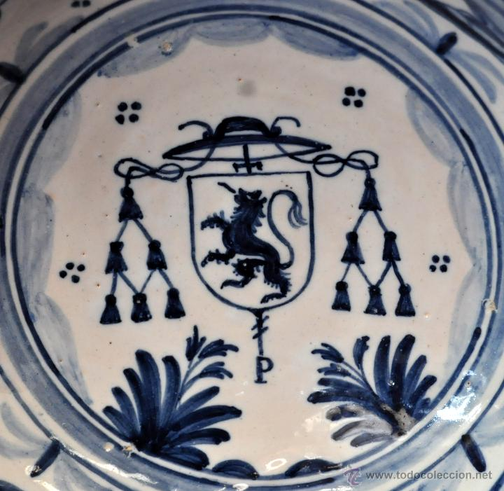 Antigüedades: PLATO EN CERÁMICA DE LA MENORA (TALAVERA) DE APROXIMADAMENTE MEDIADOS DEL SIGLO XX - Foto 2 - 53412782