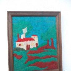 Antigüedades: CUADRO TAPIZ. Lote 53413008