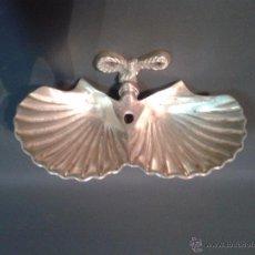 Antigüedades: JABONERA DE BRONCE. Lote 53433580