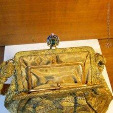 Antiques - ANTIGUO BOLSO MONEDERO CON ESPEJO - 53436086