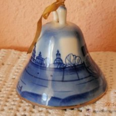 Antigüedades: CAMPANA DE PORCELANA RUSA. Lote 53436267