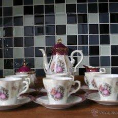 Antigüedades: JUEGO DE TÉ CAFÉ PORCELANA JAPAN. A ESTRENAR.. Lote 53447918
