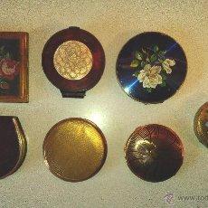 Antigüedades: LOTE 7 POLVERAS ANTIGUAS. Lote 53450128