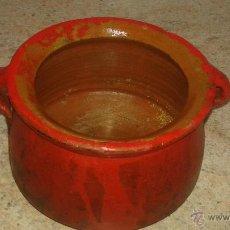 Antigüedades: OLLA ANTIGUA DE BARRO O ESO CREO. Lote 53450249