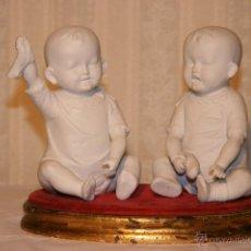 Antigüedades - Bebés de piano en biscuit HEUBACH - 53465290