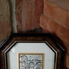 Antigüedades: CUADRO CON IMAGEN DE PLATA ORIGUINAL. Lote 53470412