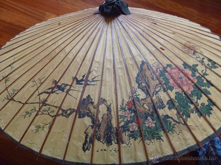 Parasol chino paraguas sombrilla papel pintado comprar - Papel pintado a mano ...