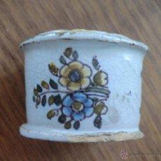 Antigüedades: SALVADERA TALAVERA S. XVIII. SERIE ALCOREÑA. CERÁMICA.. Lote 53495301
