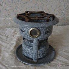 Antigüedades: HORNILLO ORIGINAL HALLER COCINILLA ESTUFA DE QUEROSENO, HAMBURGO,DE UNA MECHA. Lote 53507135