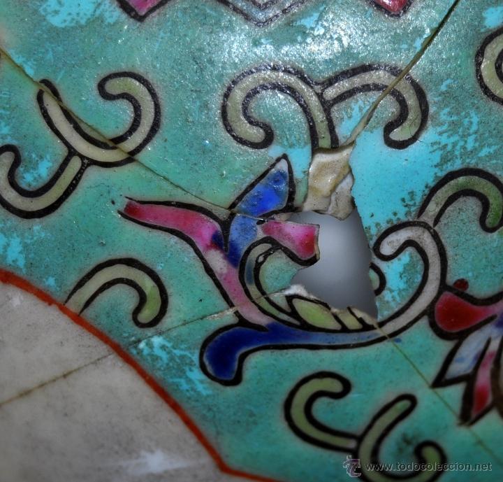 Antigüedades: PEQUEÑO TIBOR EN CERÁMICA DE MANUFACTURA CHINA. CIRCA 1950 - Foto 8 - 287702343