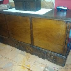 Antigüedades: GRAN ARCON DE CASTAÑO. Lote 47428023