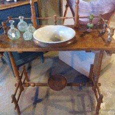 Antigüedades: TOCADOR CON LAVABO. Lote 53525946
