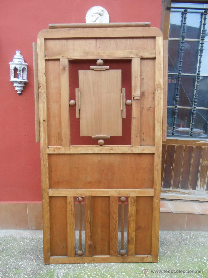 Antigüedades: PERCHERO DE MADERA PRINCIPIOS SIGLO XX - Foto 14 - 27639995