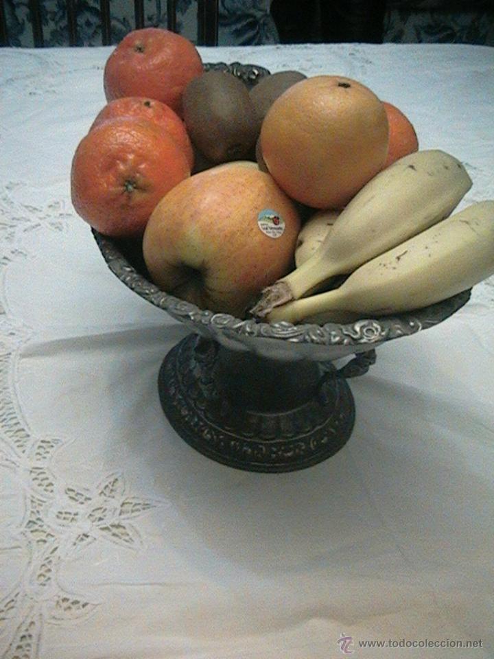 Centro mesa comedor bandeja frutas frutero flor comprar for Comedor de frutas para bebe