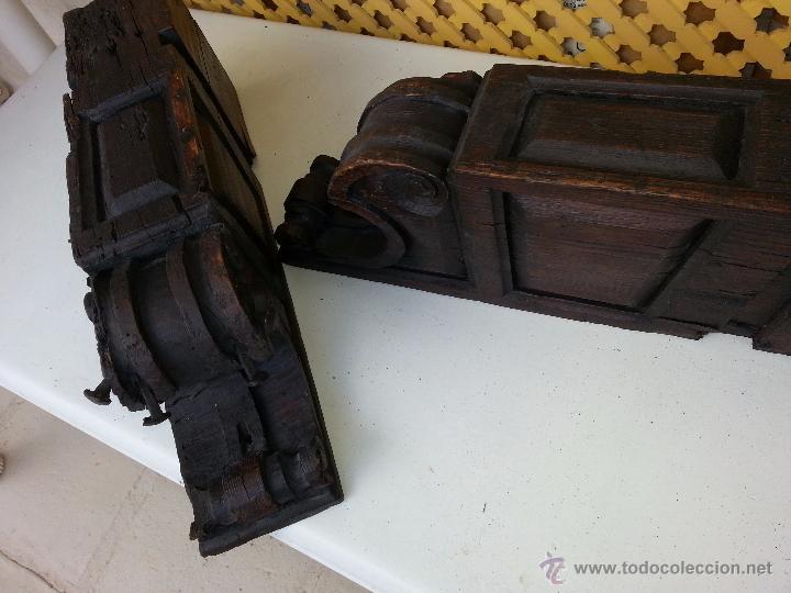 MENSULAS ANTIGUAS TALLADAS SEVILLA (Antigüedades - Muebles Antiguos - Ménsulas Antiguas)